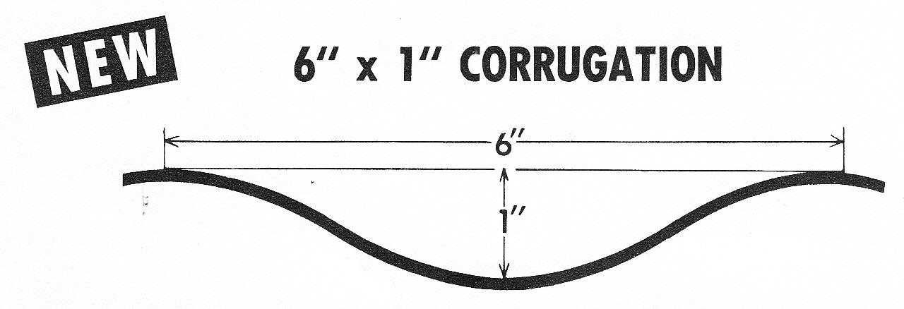 6x1 Corrugation